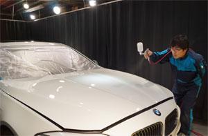 BMW528iRバンパー交換・F撥水・T'sWS-1 (14)