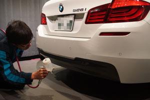 BMW528iRバンパー交換・F撥水・T'sWS-1 (15)