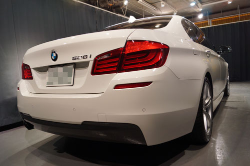 BMW528iRバンパー交換・F撥水・T'sWS-1 (19)