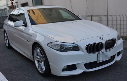 BMW528iRバンパー交換・F撥水・T'sWS-1 (20)