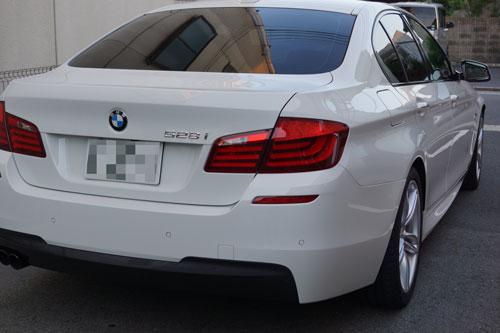 BMW528iRバンパー交換・F撥水・T'sWS-1 (21)