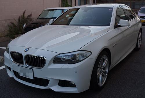 BMW528iRバンパー交換・F撥水・T'sWS-1 (23)