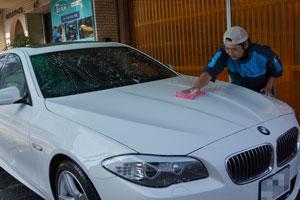 BMW528iRバンパー交換・F撥水・T'sWS-1 (9)